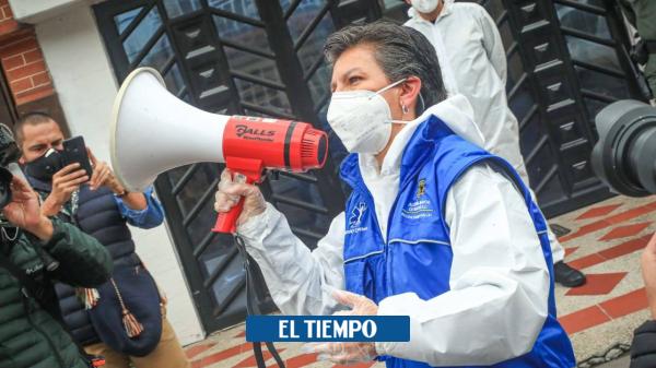 Alerta naranja por coronavirus en otras cinco localidades de Bogotá