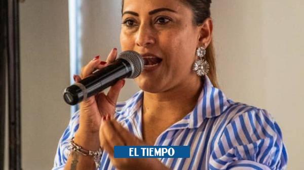 Alcaldesa de Hispania no respetó la cuarentena y fue a una parranda