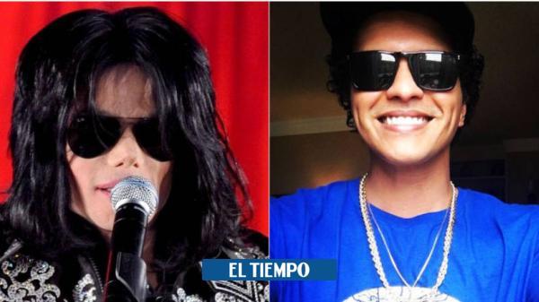 ¿Por qué están relacionando a Michael Jackson con Bruno Mars?