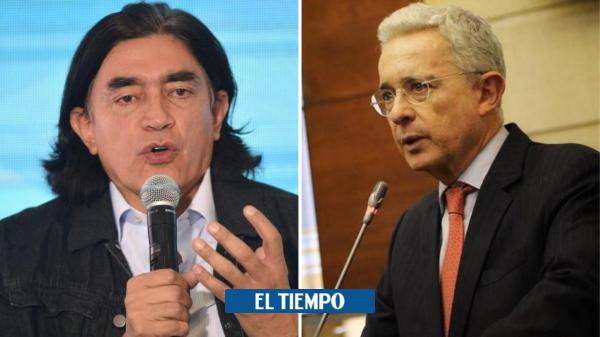 El cruce de acusaciones entre Álvaro Uribe y Gustavo Bolívar