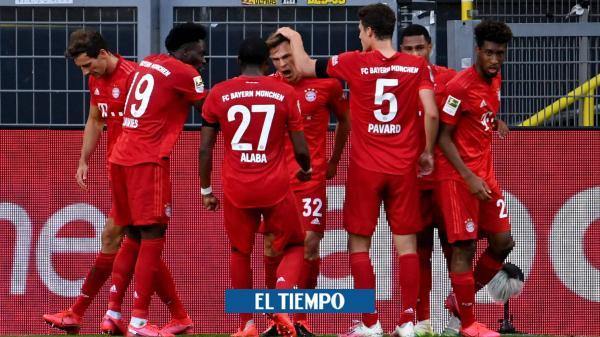 Bayern Múnich venció al Borussia Dortmund y ve el título muy cerca