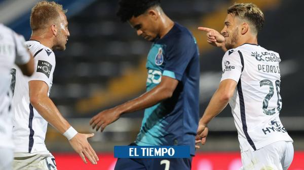 El Porto de Díaz y Uribe cayó en el regreso del fútbol de Portugal