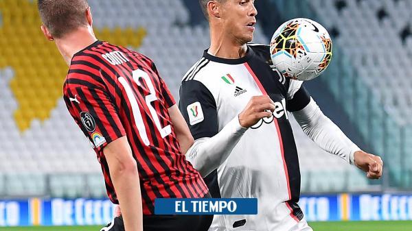 Pálido regreso del fútbol italiano: Juventus, finalista de la Copa