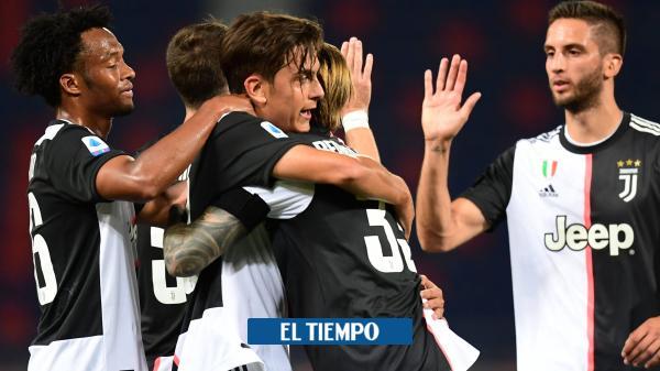 Gran actuación de Cuadrado en el triunfo de Juventus