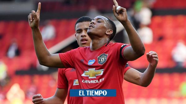Apareció Martial: triplete con el United para vencer al Sheffield