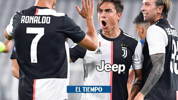 El golazo de Cristiano Ronaldo, no para de romperla en Italia