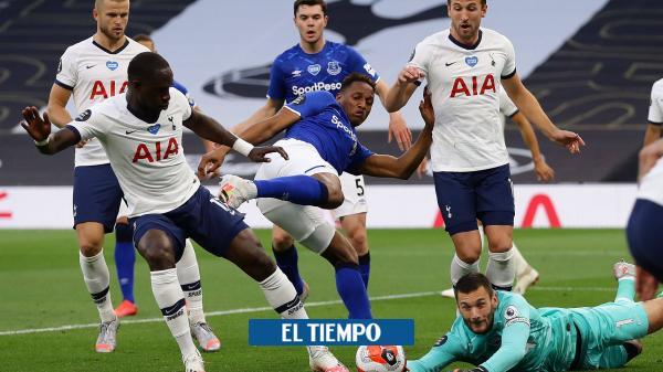 Con Dávinson, suplente y Mina, en cancha, Tottenham venció a ...