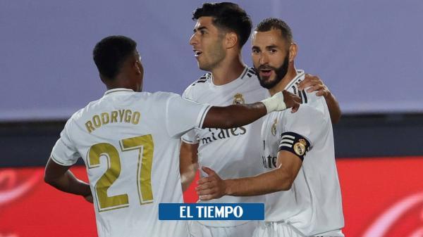 Real Madrid ganó y está un paso más cerca del título de la Liga