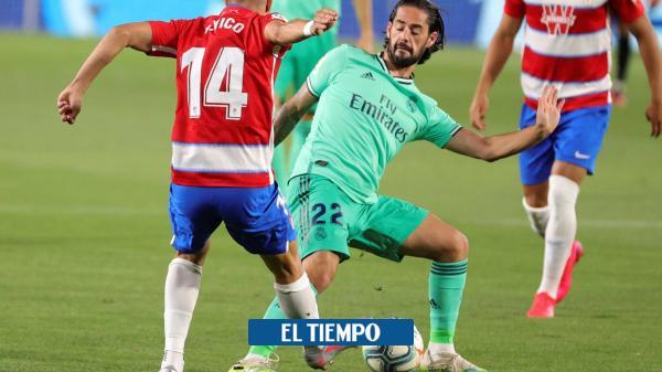 Siga el minuto a minuto de Granada vs. Real Madrid