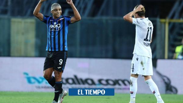 Video: reviva los golazos de Muriel y Zapata con el Atalanta