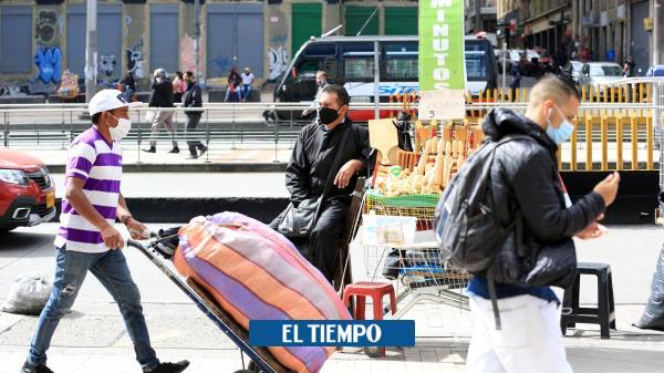 Piden a la Alcaldía de Bogotá mayor apoyo a vendedores informales