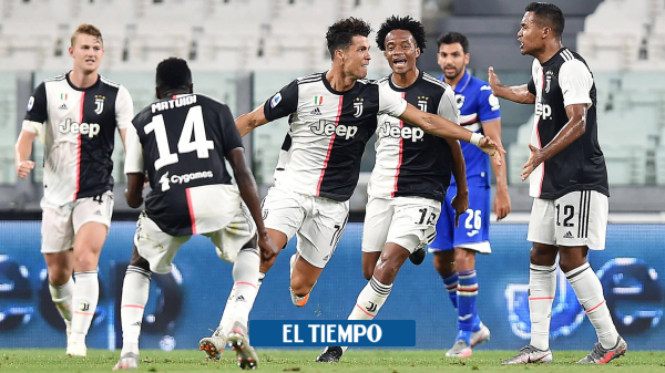 EN VIVO: siga el minuto a minuto de Juventus vs. Sampdoria