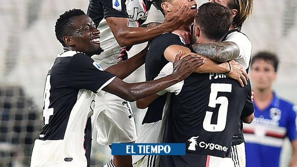 ¡Cuadrado y Juventus, campeones en Italia!