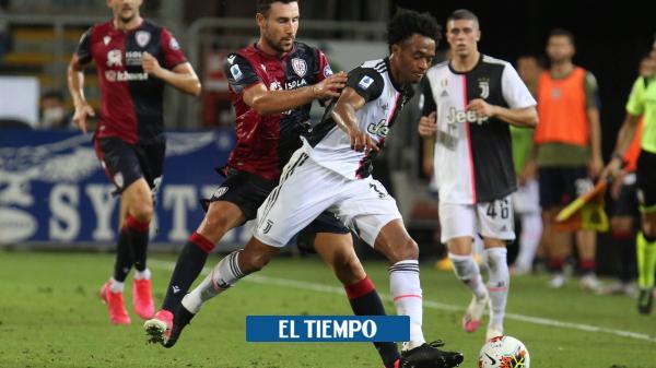 Con Cuadrado y la resaca del título, Juventus perdió con Cagliari