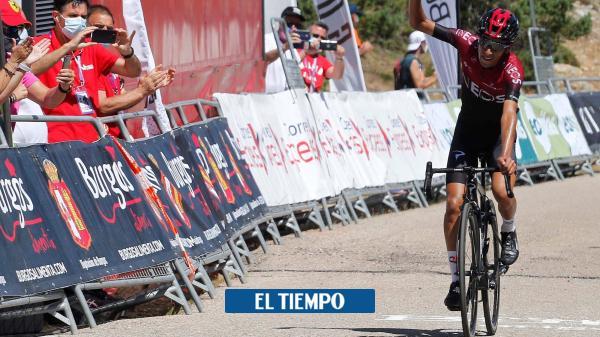 Iván Ramiro Sosa ganó la última etapa de la Vuelta a Burgos