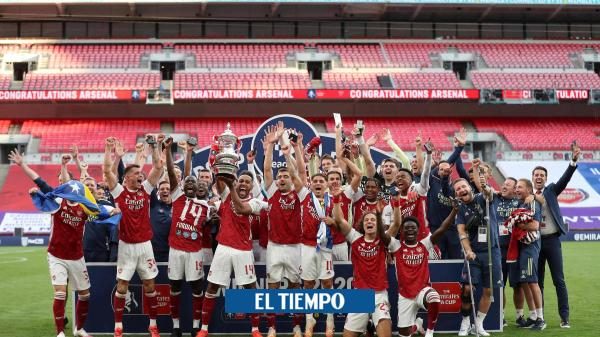 ¡Campeones! Arsenal vence al Chelsea y gana el título de la FA Cup