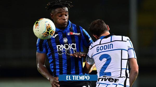 Atalanta perdió con Inter y quedó en tercer lugar
