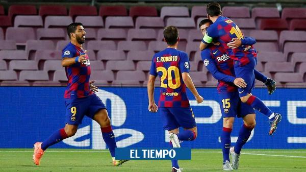 De la mano de Messi, Barcelona sigue camino en la Liga de ...
