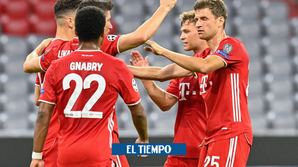Sin afán, Bayern Múnich, a cuartos de final de la Liga de Campeones