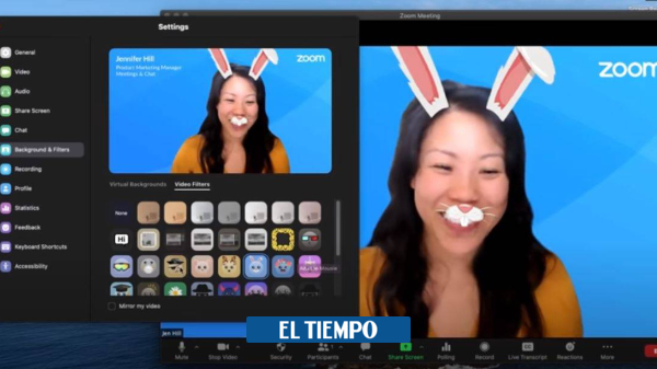 Zoom: new filters and background noise reduction – Technology News – Technology