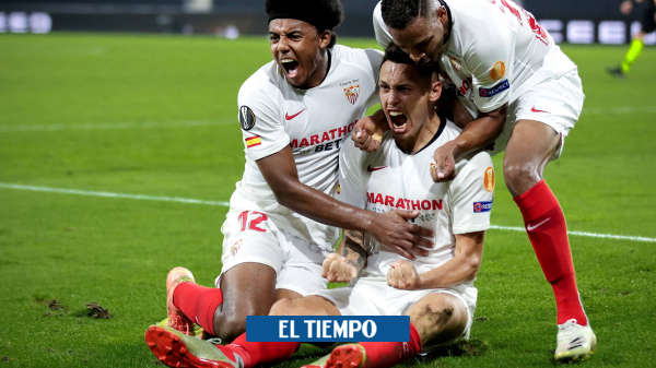 Sevilla vuelve a plantar su candidatura para ganar la Liga Europa