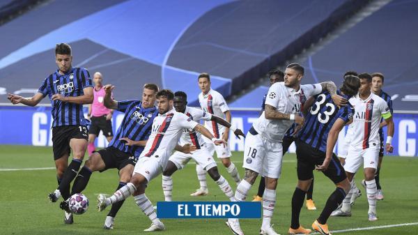 Minuto a minuto: sobre la hora, PSG remonta y vence al Atalanta