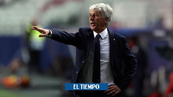 La resignación del técnico del Atalanta tras la eliminación