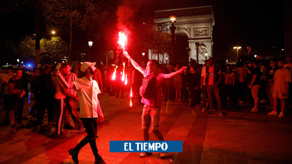 París, de fiesta con el paso de PSG a la final de la Liga de ...