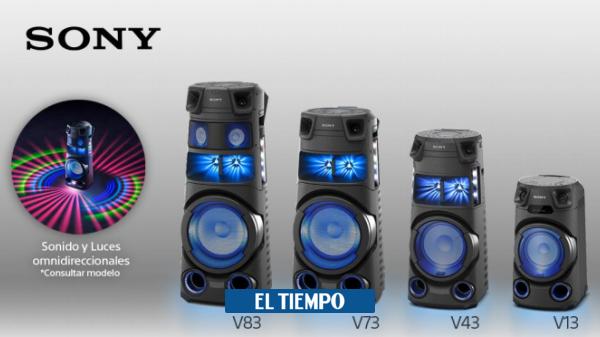 Sony presentó la nueva serie V de sistemas de audio