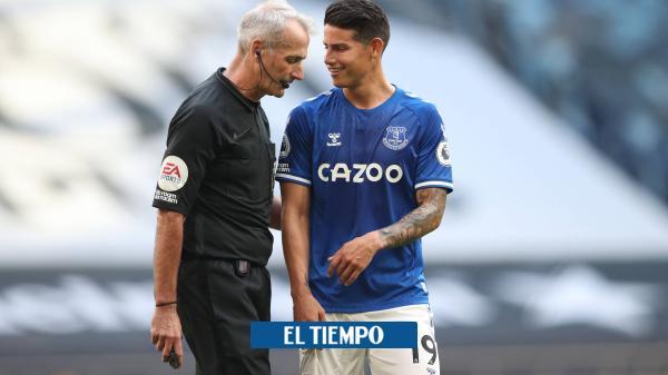 James pone a soñar a los hinchas del Everton, dice la prensa