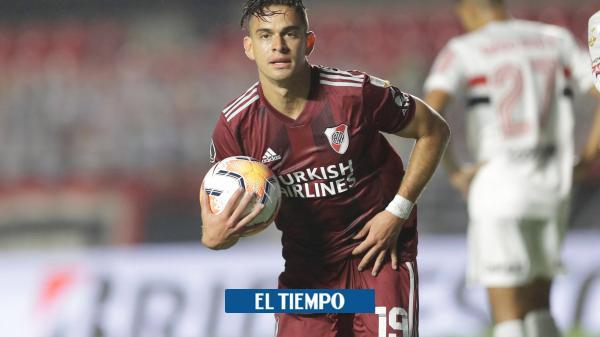 ¡Volvió Borré! Vea su gol con River en la Copa Libertadores