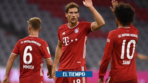 Bayern Múnich humilla al Schalke con descomunal goleada