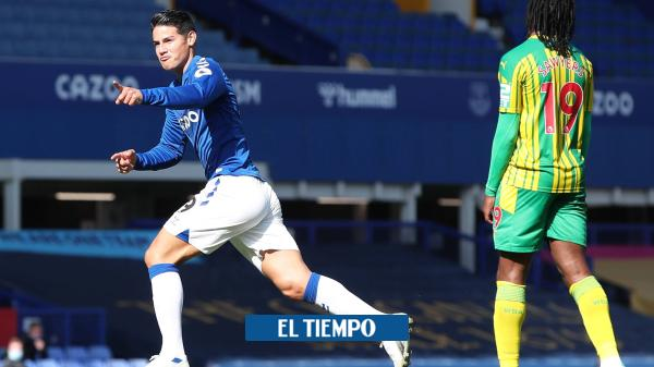 EN VIVO: James, titular con el Everton en el partido contra Leeds
