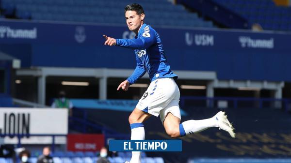 Reviva el triunfo del Everton, con James, frente al West Ham