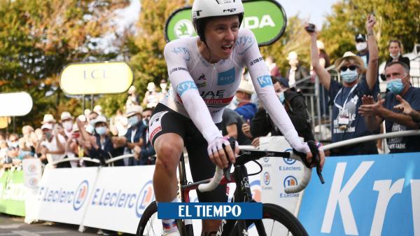 Pogacar no se lo cree: 'Mi sueño era correr el Tour y ahora lo gano'