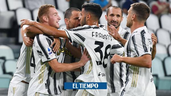 Cuadrado jugó 78 minutos en la goleada de Juventus a Sampdoria