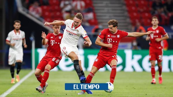 EN VIVO: siga el minuto a minuto de la Supercopa Bayern vs. Sevilla