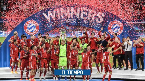 Nuevo título: ¡Bayern Múnich es el supercampeón de Europa!