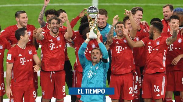 ¡Bayern Múnich supercampeón de Alemania!