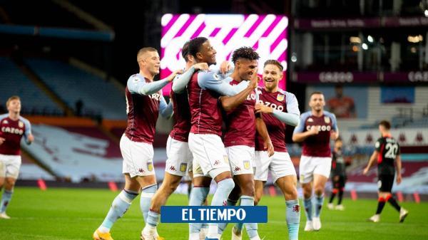 Locura en Inglaterra: goleada histórica del Villa al Liverpool: 7-2