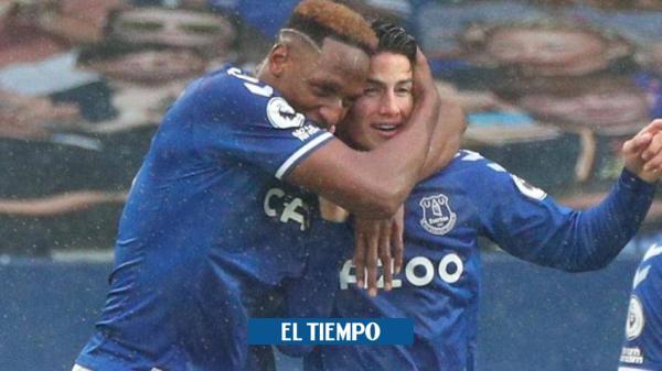 EN VIVO: siga la reaparición de James con el Everton