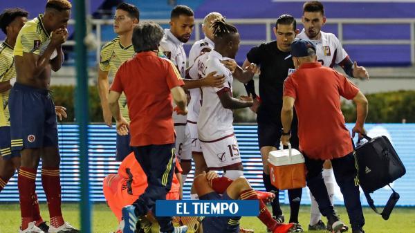 ¡Terrible imagen! La horrorosa lesión que sufrió Santiago Arias