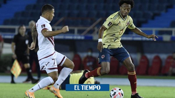 Mire acá los goles del partido Colombia vs. Venezuela