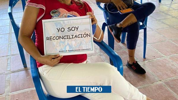 La reconciliación de una comunidad y exFarc en los Montes de María