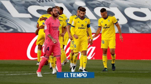 Cádiz sorprende al Real Madrid y le propina inesperada derrota