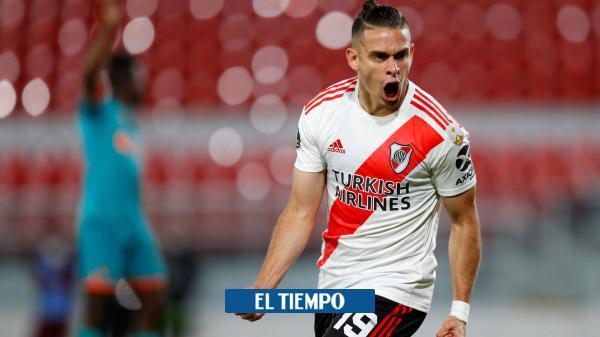 ¡Los goles de Santos Borré en la Copa, el arma de River Plate!