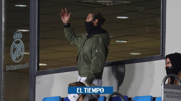 Ramos, otro dolor de cabeza para Real Madrid, en medio de la crisis