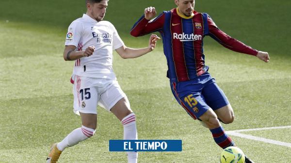 EN VIVO: Siga aquí el clásico español entre Barcelona y Real Madrid