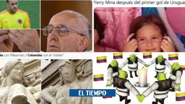 Los mejores memes del partido Colombia - Uruguay
