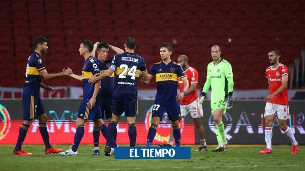 Boca, con sus colombianos, por el primer asalto contra Santos